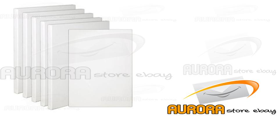 Tela telaio per pittura bianco 50x100 cm 100x50 tela for Finestra 50x100
