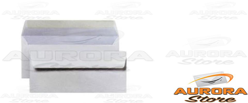 Buste bianche commerciali 11x23cm senza finestra 40pz ebay - Buste 11x23 senza finestra ...