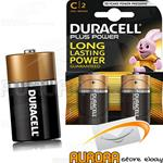 DURACELL MEZZA TORCIA C PLUS POWER BLISTER 2 PEZZI