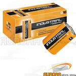 10 BATTERIE DURACELL INDUSTRIAL TORCIA D ALCALINE PROCELL1,5v