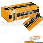 10 BATTERIE DURACELL INDUSTRIAL TRANSISTOR 9V ALCALINE PROCELL