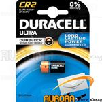 BATTERIE DURACELL CR2 ULTRA 3v