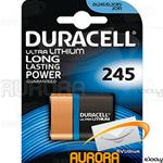 10 Blister - DURACELL ULTRA LITIO 245 6v