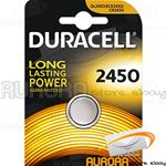 10 BLISTER DURACELL 2450 A BOTTONE LITHIUM 3v