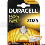 10 BLISTER DURACELL CR 2025 A BOTTONE LITIO 3v