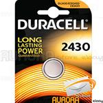10 BLISTER DURACELL 2430 A BOTTONE LITHIUM 3v