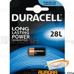 10 Blister - DURACELL ULTRA LITIO 28L 6v