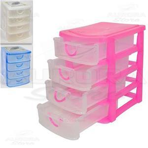 Cassettiera 4 Cassetti Prezzi.Cassettiera In Plastica 4 Cassetti Vari Colori Casa