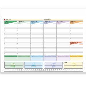 Agenda Planning Settimanale Da Tavolo 2019 Bianco Agende 2024