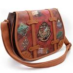Borsa Tracolla Grande Portatutto - Harry Potter - Marrone