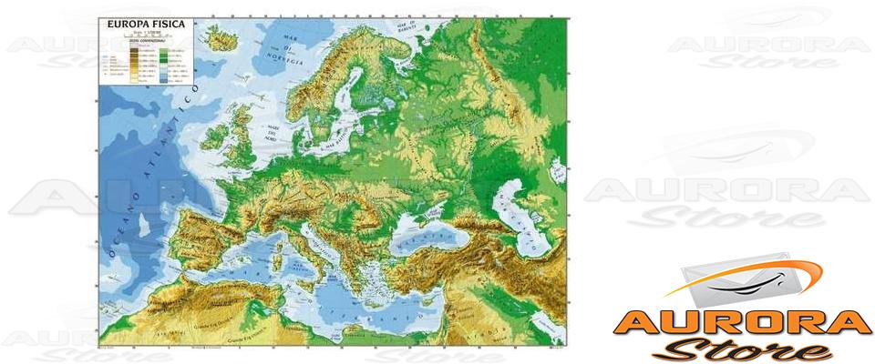 Europa Cartina Fisica Wwwpicswecom